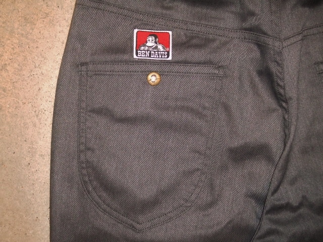 BENDAVIS STRETCH 5P PANTS GRAY BK2