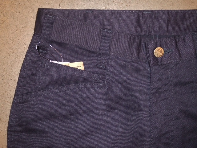 BENDAVIS STRETCH 5P PANTS NAVY FT2