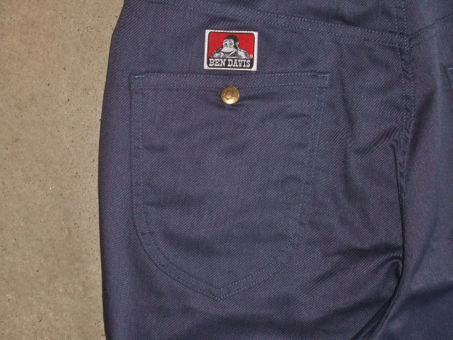 BENDAVIS STRETCH 5P PANTS NAVY BK2