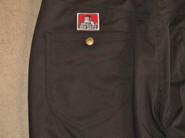 BENDAVIS STRETCH 5P PANTS BLACK BK2