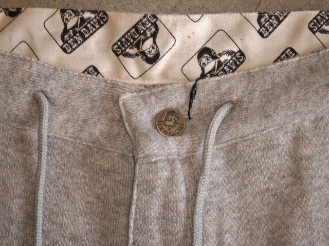 BENDAVIS SWET PANTS HGRAY FT2