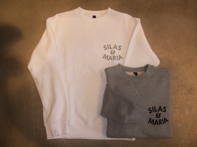 SILAS SILAS&M CREW NECK SWEAT
