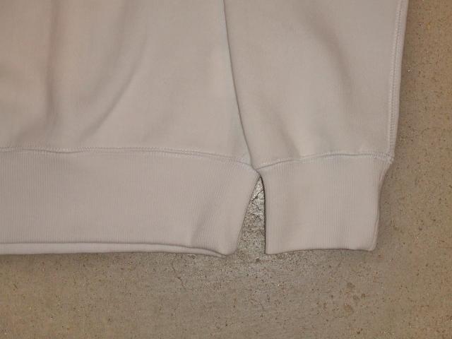 SILAS SILAS&M CREW NECK SWEAT WHITE FT3