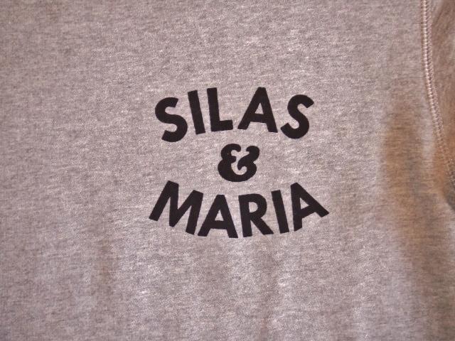 SILAS SILAS&M CREW NECK SWEAT GRAY FT2