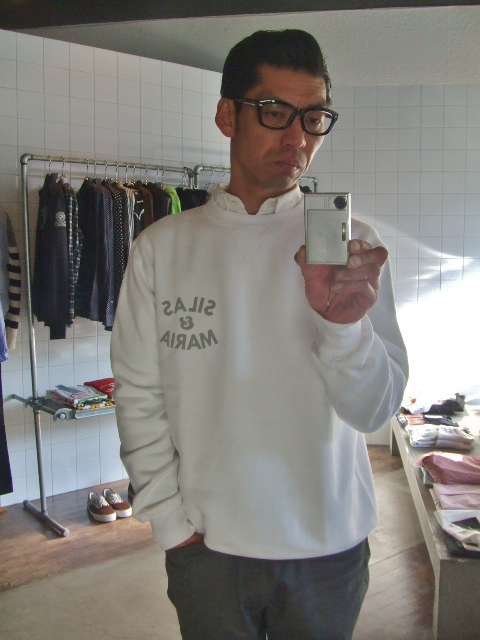 SILAS SILAS&M CREW NECK SWEAT ST