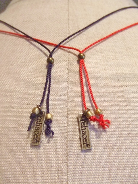 rehacer Fliwer Cord Necklace5