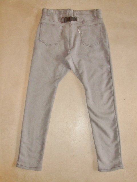 rehacer Blooming Stretch Pants GRAY BK1
