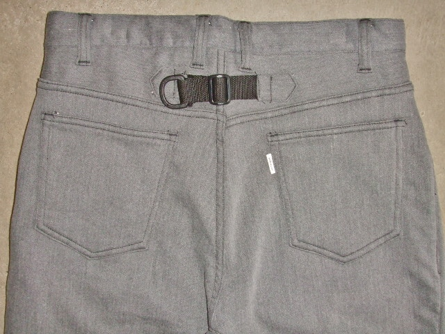 rehacer Blooming Stretch Pants GRAY BK2
