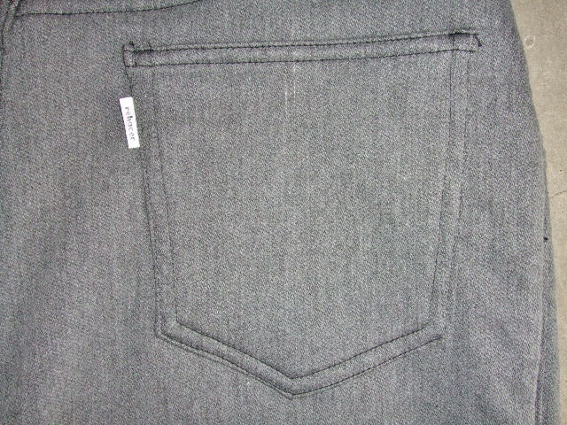 rehacer Blooming Stretch Pants GRAY BK4