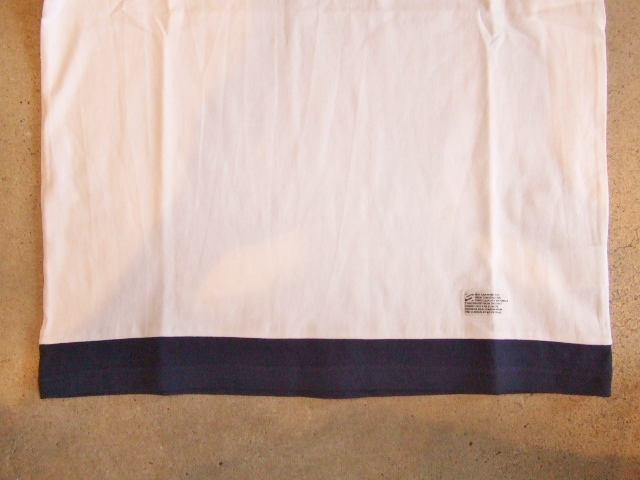 SILAS PIPING POCKET TEE WHITE FT3
