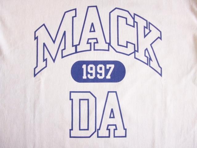 MDY MACKDA SS TEE WHITE FT