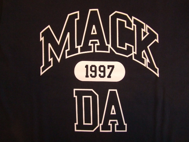 MDY MACKDA SS TEE NAVY FT