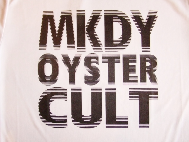 MDY MKDY OYSTER CULT SS TEE WHITE FT1
