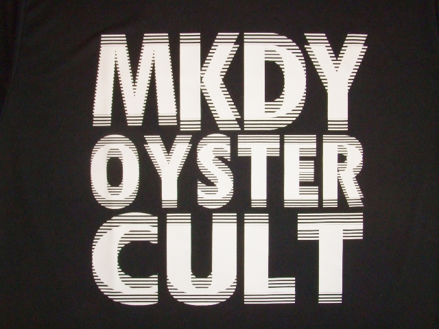 MDY MKDY OYSTER CULT SS TEE BLACK FT1