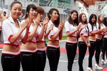 韓国のF1ガールズ