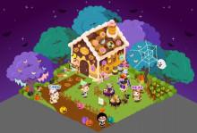 ピグライフ-2012ハロウィン・お菓子のひみつ基地