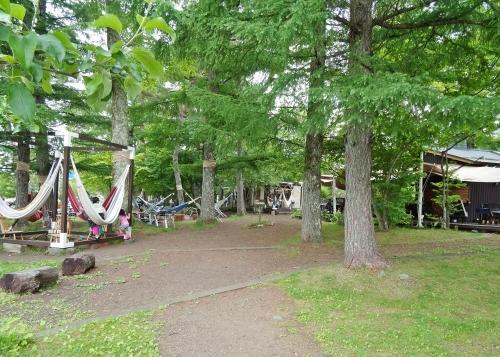 山中湖 ハンモックカフェ