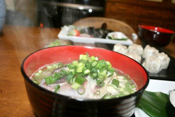 鯛のお味噌汁