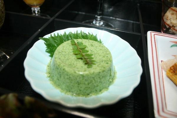葉わさび豆腐