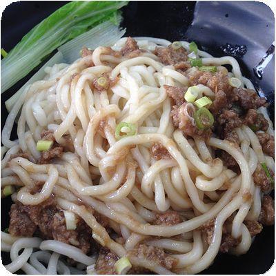 角子虎水餃館乾麺