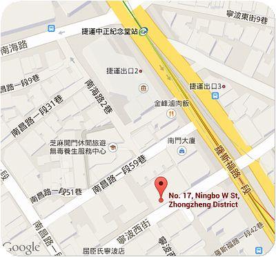 奇福扁食地図
