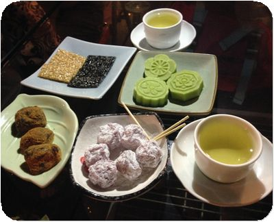阿妹茶酒館茶菓子