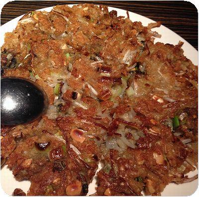 aoba牡蠣オムレツ