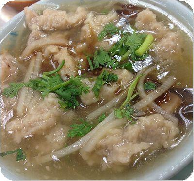 雙連街魯肉飯スープ