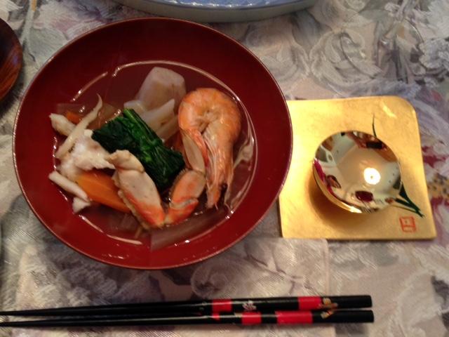 新年お雑煮