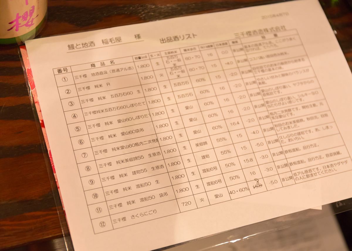 稲毛屋 三千櫻の会(5)
