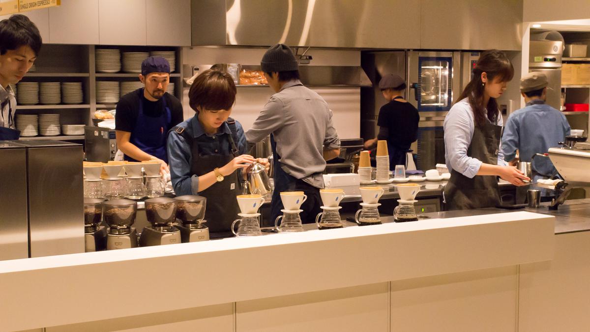 ブルーボトルコーヒー青山店(6)