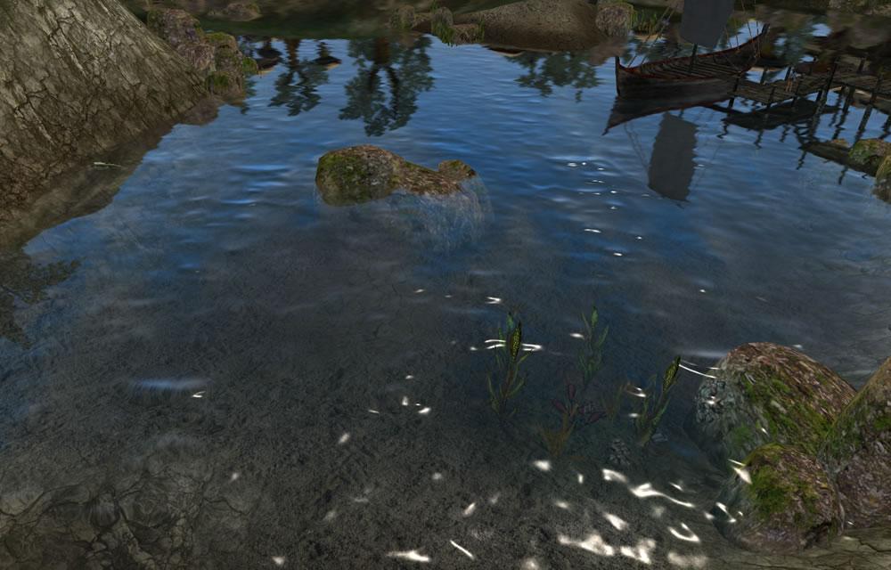 水面のフレネル反射2