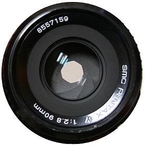 レンズの絞り形状