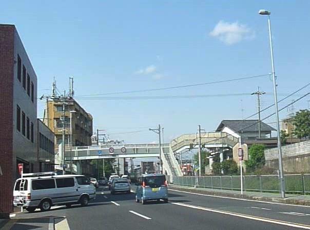桃山横断歩道橋01
