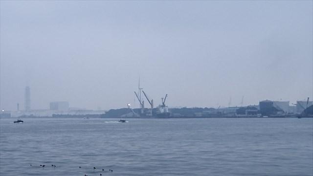 京浜運河の光景