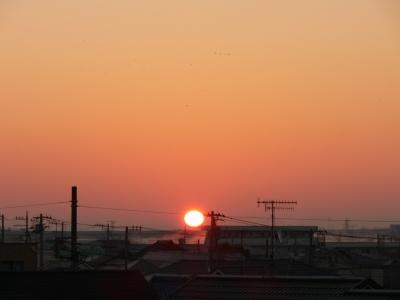 大晦日の日の出