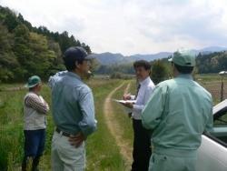 吉賀町内の河川調査