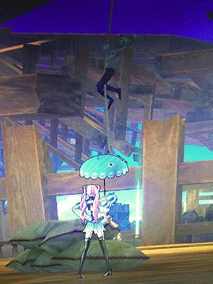 海賊船ステージ