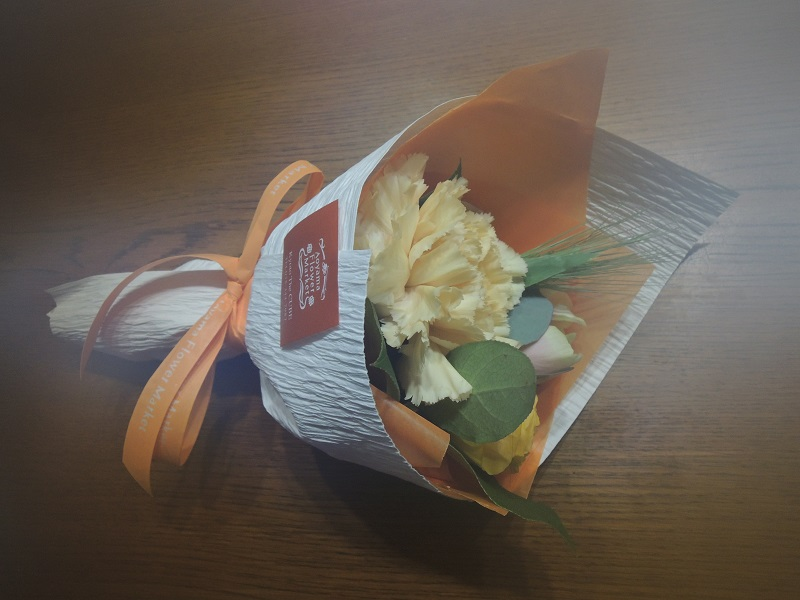 退院のお祝い・花束