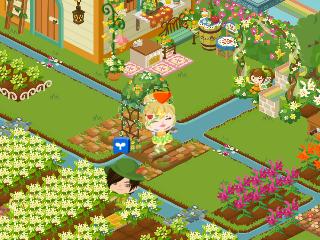 3ピグライフの庭