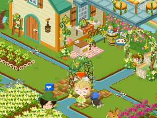 2ピグライフの庭