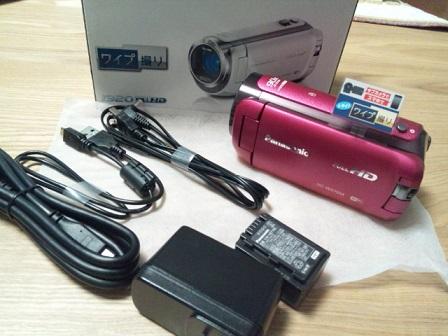 ビデオカメラ HC-W570M