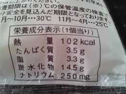ランチパック ツナサラダ成分