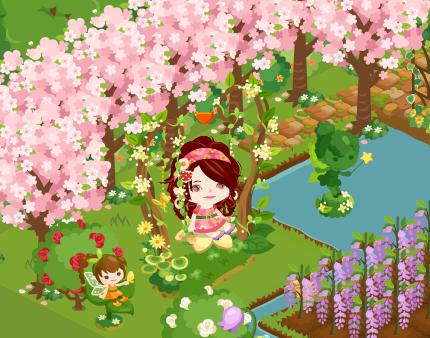 ピグライフ 桜