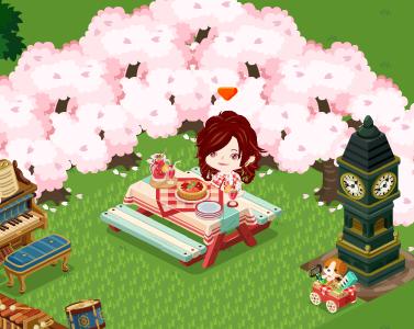 ピグワールド 桜