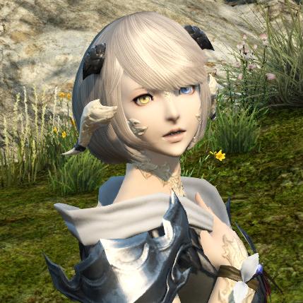 アウラ・レン♀ 白肌金髪中の人が大好きな典型美少女タイプアウラ専用髪型がとても可愛いのばっかりでズルいわ