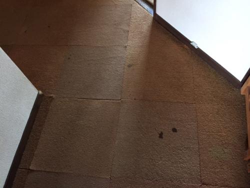 尿漏れの跡