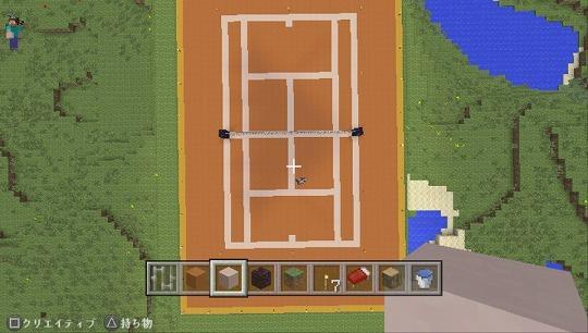 s-マインクラフト テニスコート (2)