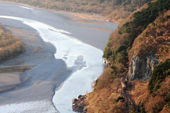 2010年1月 大井川鉄道 神尾