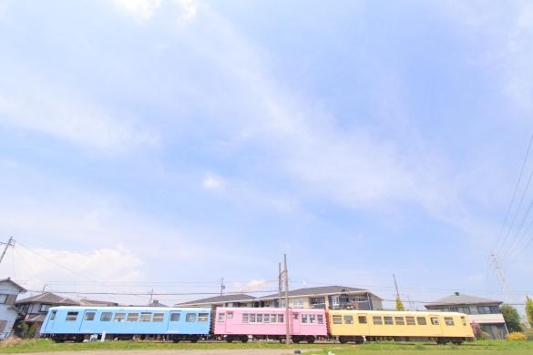 2015/4/24 四日市あすなろう鉄道 八王子線 日永~西日野